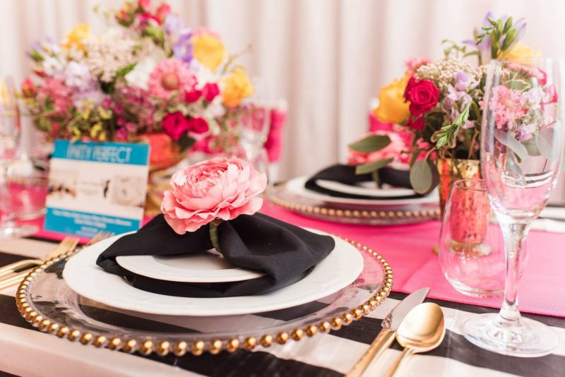 Party Perfect Wedding Table Design Flowers
